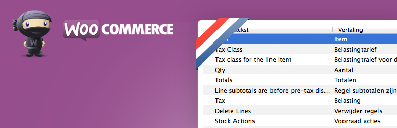 WooCommerce (nl) Header