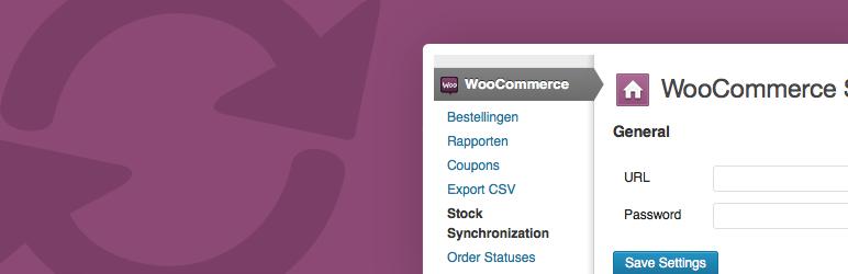 WooCommerce Stock Synchronization Plugin Banner